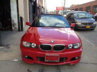 2005 Bmw 330ci Convertible,  M Performance Pkg,  59k,  Red 100%feed photo