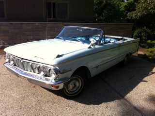 1963 Mercury Comet S22 Convertible photo
