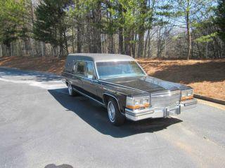 1989 S&s Victoria Cadillac Hearse photo