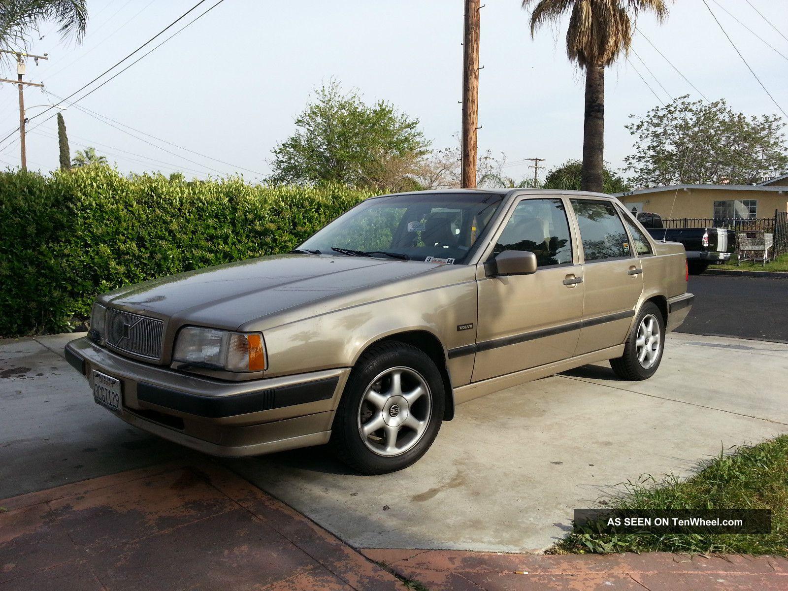 1993 Volvo 850 Glt Sedan 4 - Door 2. 4l