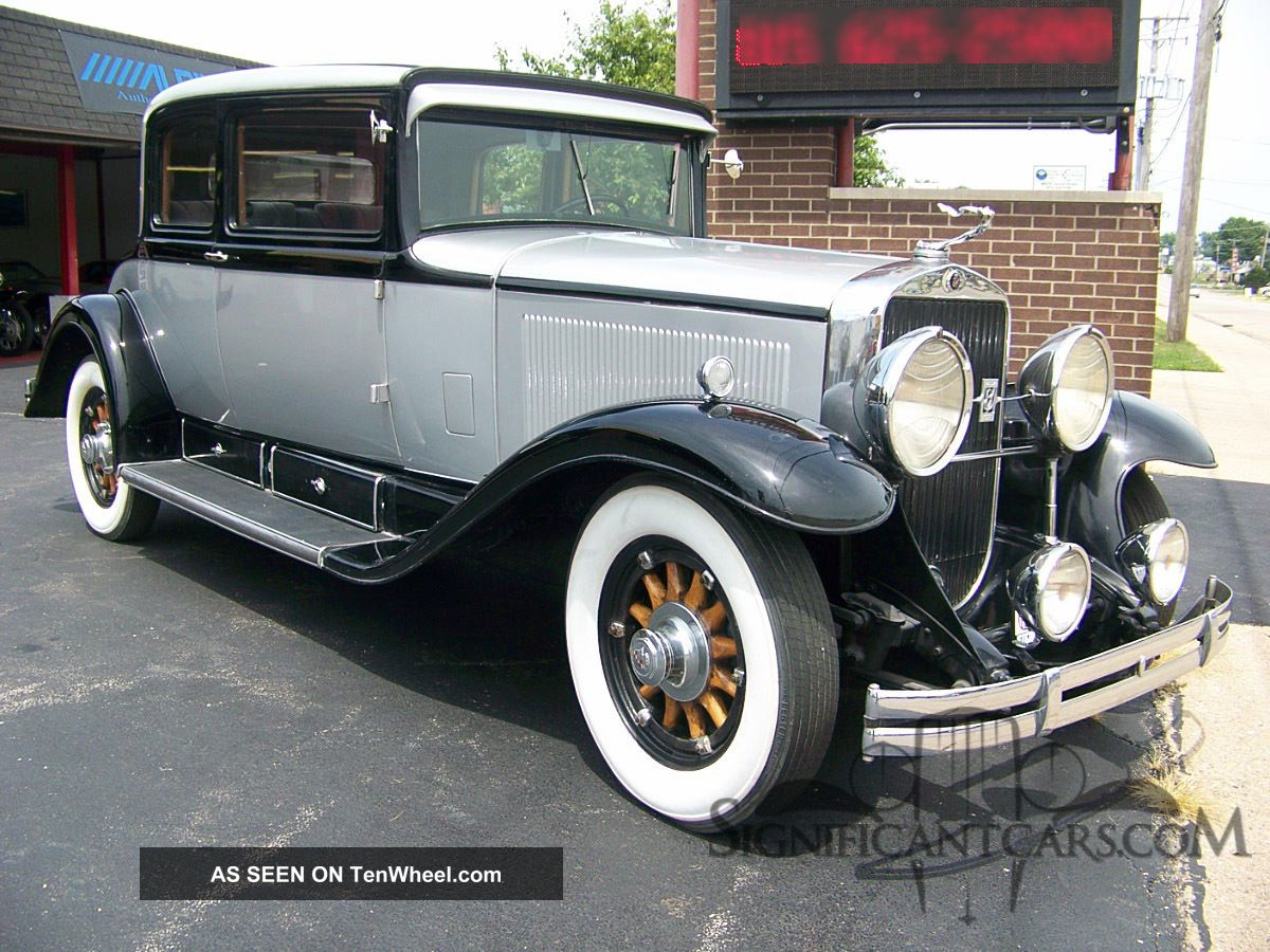 1930 Cadillac 353 Victoria Coupe - Rare And Affordable Full Classic Other photo