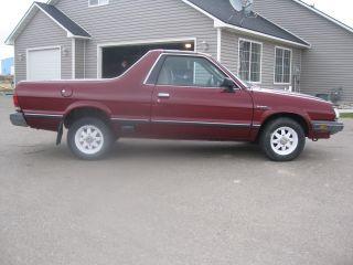 1984 Subaru Brat Gl photo