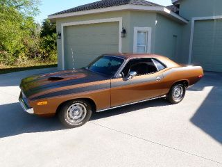 1972 Plymouth Barracuda 340 Numbers Matching With Factory Cruise Control photo