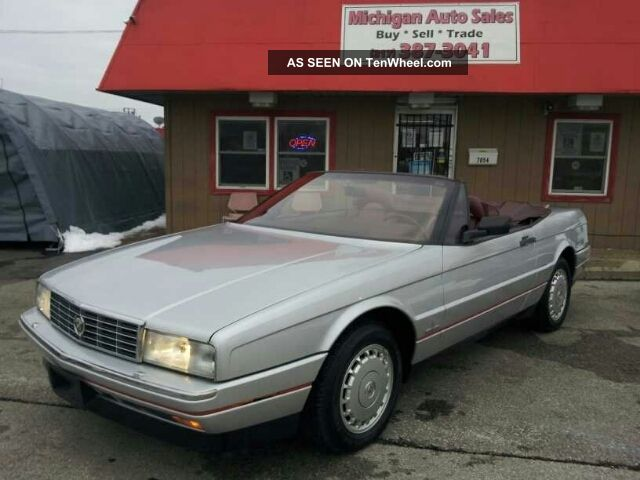 1988 Cadillac Allante,  Limited Edition,  And Sharp,  Liquidation Allante photo