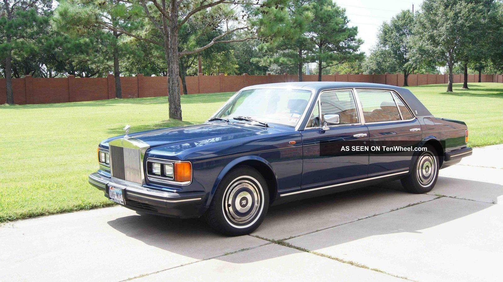 1988 Rolls - Royce Silver Spur