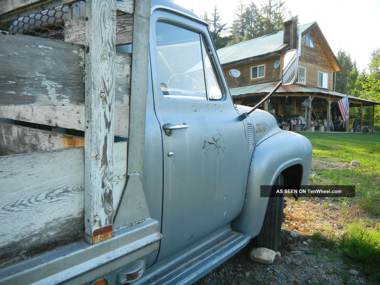 1953 ford v8 4 speed manual 350 1 ton dually short flatbed with 1949 Ford F6 1953 ford v8 4 speed manual 350 1 ton dually short flatbed with racks