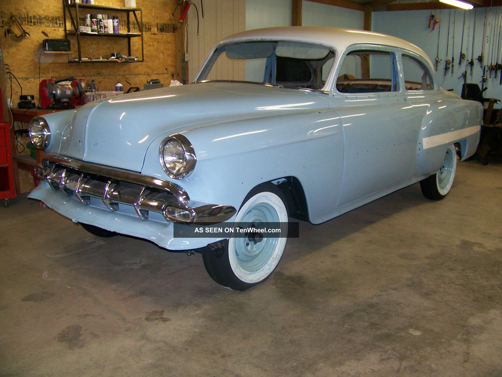 1954 Chevrolet Be Lair Classic 2 Dr Frame Off Restoration Bel Air/150/210 photo