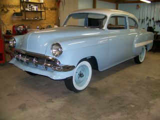 1954 Chevrolet Be Lair Classic 2 Dr Frame Off Restoration photo