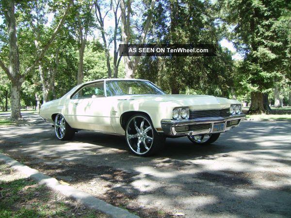 1972 Buick Lesabre Custom Hardtop 2 - Door 5.  7l LeSabre photo
