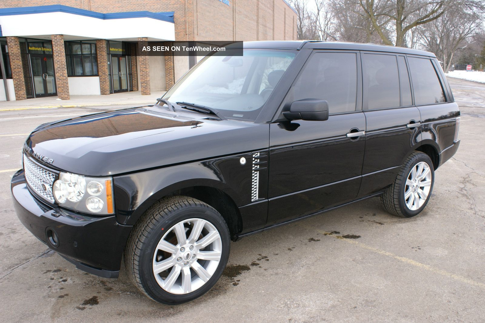 2006 range rover hse the image kid has it. Black Bedroom Furniture Sets. Home Design Ideas