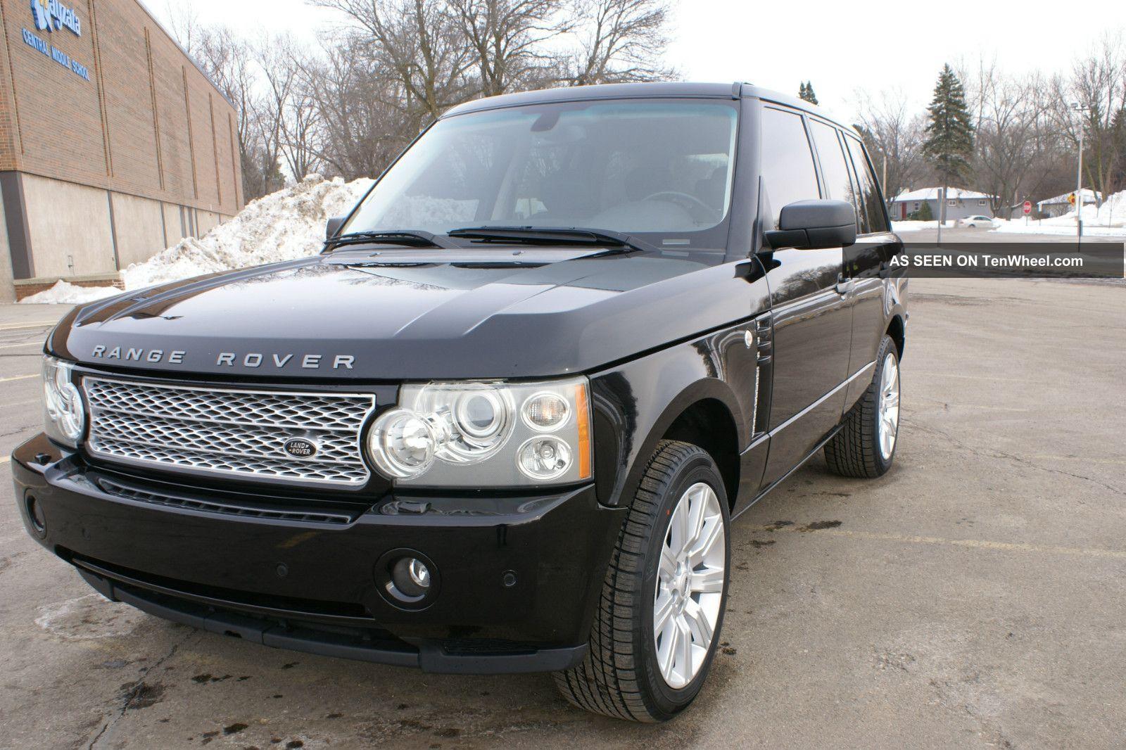 2006 range rover hse. Black Bedroom Furniture Sets. Home Design Ideas