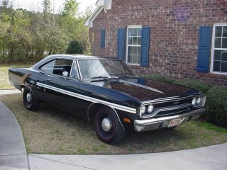 1970 North Carolina,  Gtx,  Black Velvet,  Hp - 440 Numbers Matching,  N - 96 Air Grabber photo