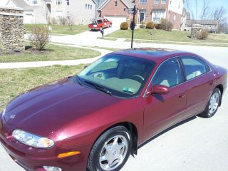 2001 Oldsmobile Aurora 4.  0l Burgundy / Tan.  Remote Starter. photo