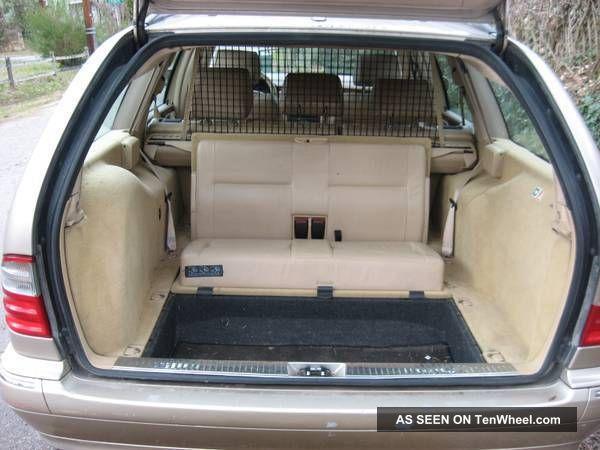 2000 Mercedes Benz E320 4matic Wagon 4 Door 3 2l 7 Seater