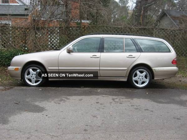 2000 mercedes benz e320 4matic wagon 4 door 3 2l 7 seater for 2000 mercedes benz e320 wagon