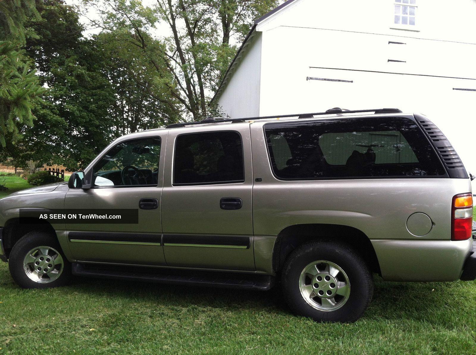 2002 chevrolet suburban 1500 ls sport utility 4 door 5 3l. Black Bedroom Furniture Sets. Home Design Ideas
