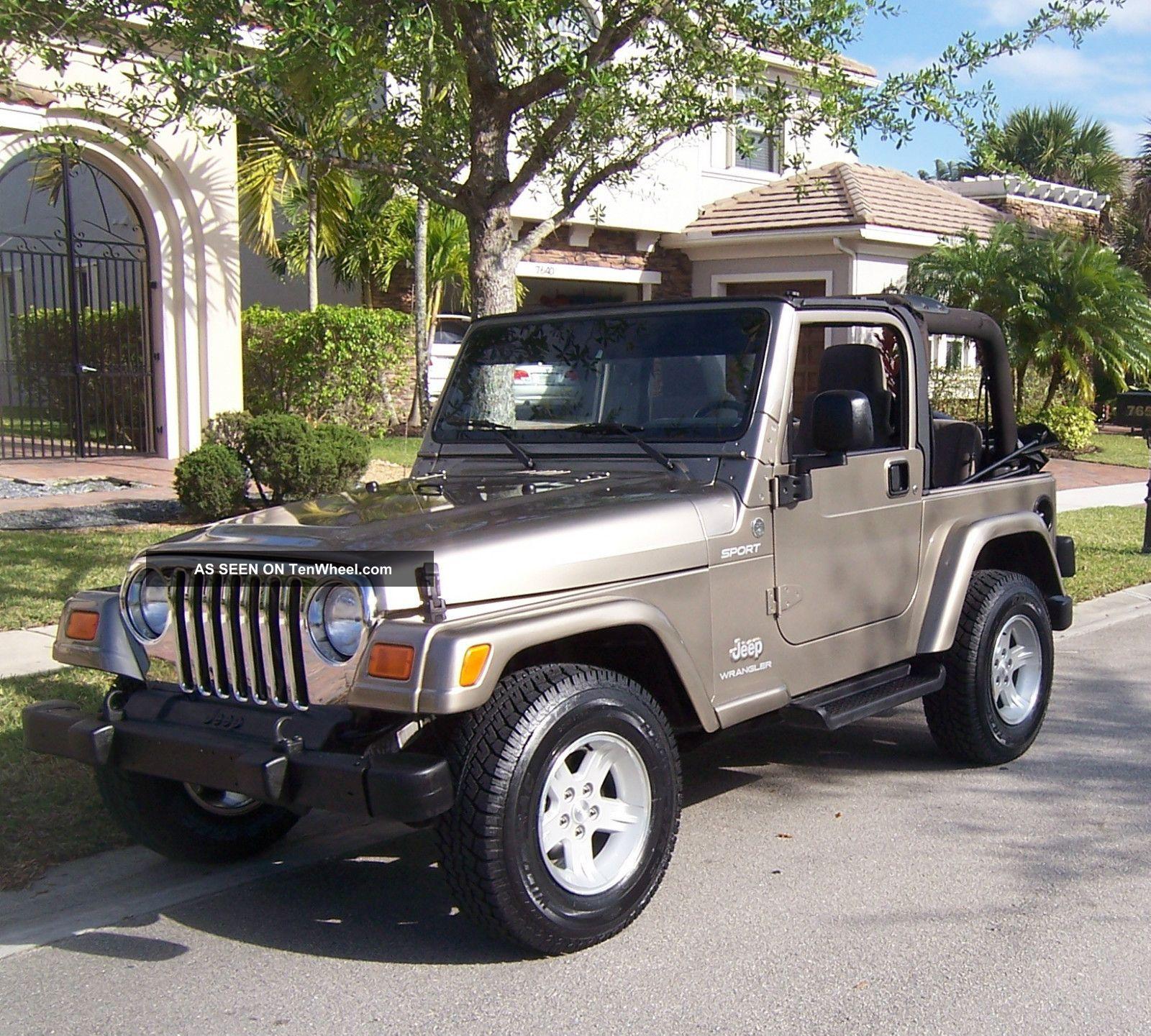 2005 jeep wrangler sport 4 0. Black Bedroom Furniture Sets. Home Design Ideas