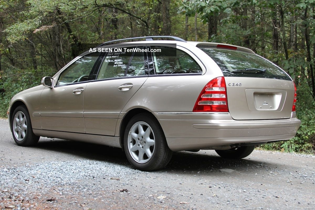 2003 mercedes benz c240 base wagon 4 door 2 6l for Mercedes benz wagons