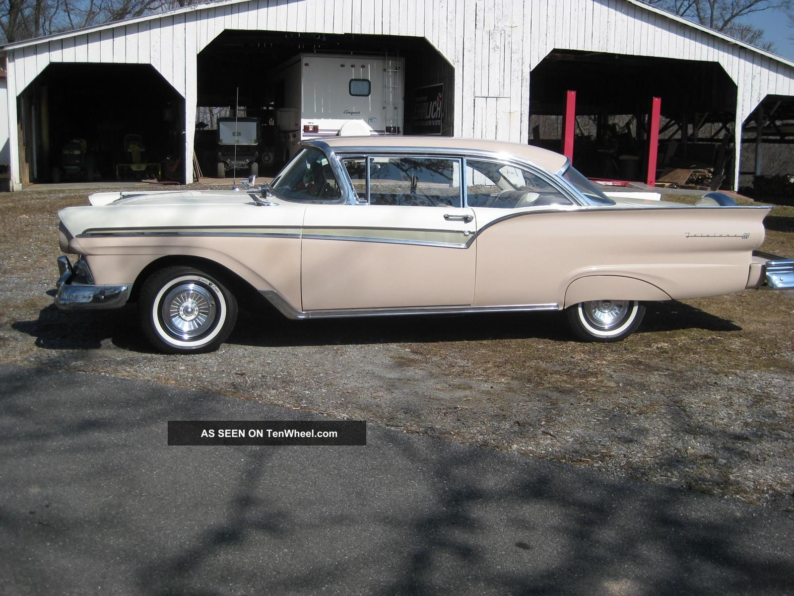 1957 ford fairlane 500 two door hardtop continental kit for 1957 ford 2 door
