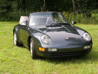 1995 Porsche 911 Carrera Convertible 2 - Door 3.  6l photo