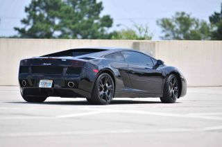 2007 Lamborghini Gallardo Nera Edition Flawless. photo