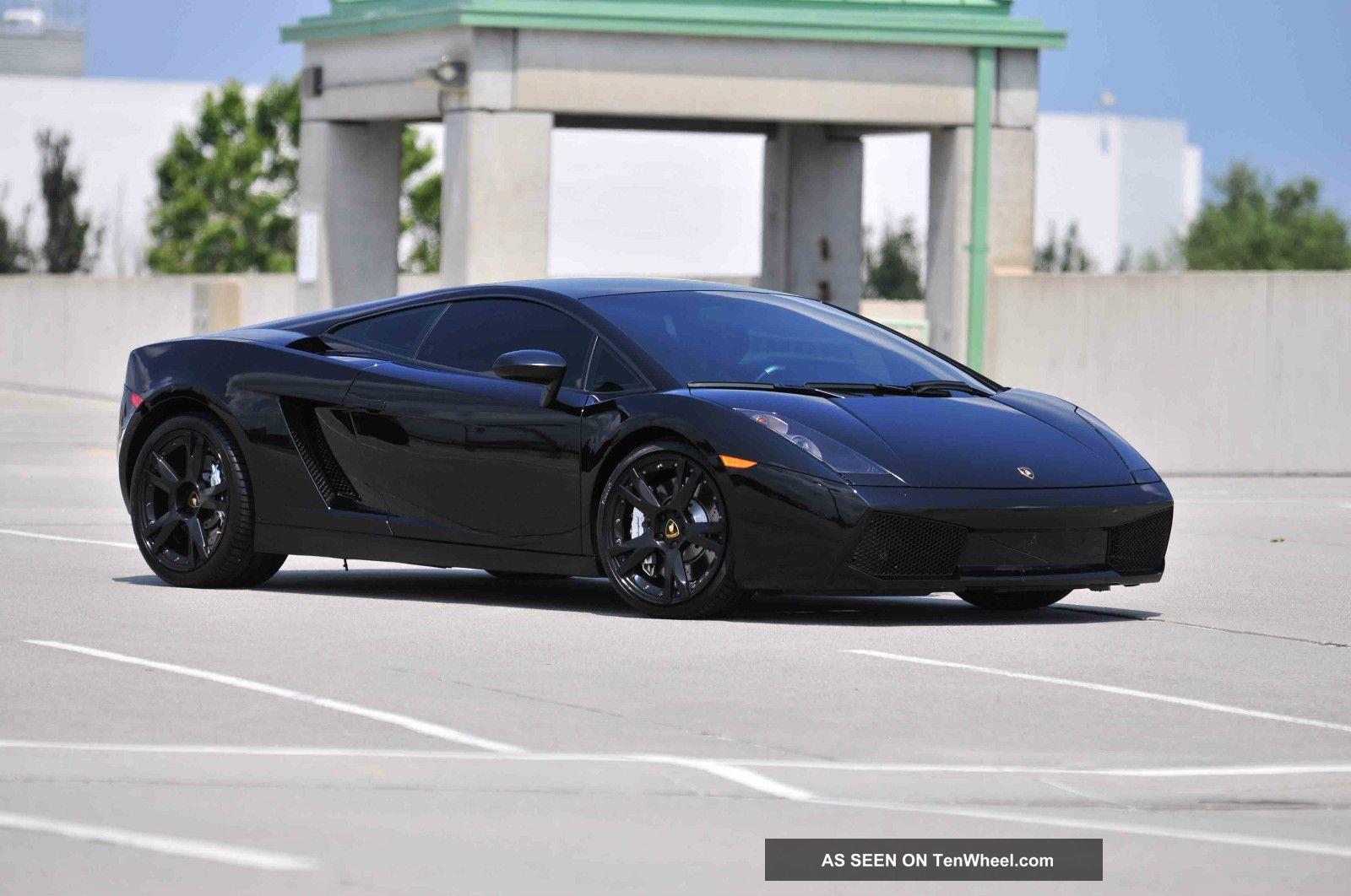 2007 Lamborghini Gallardo Nera Edition Flawless