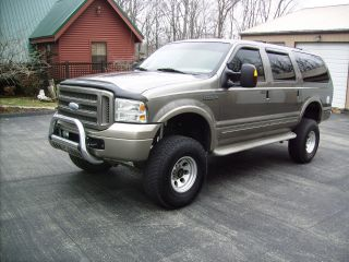 2005 Excursion 4x4 Eddie Bauer 6.  0 Turbo Diesel Extremly photo