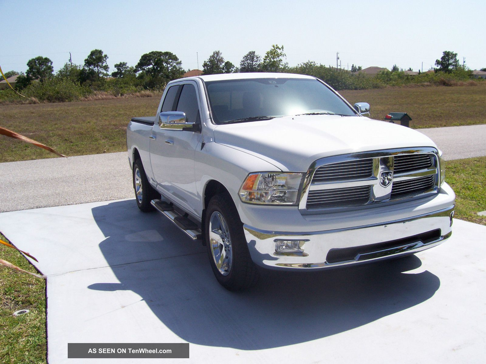2012 dodge ram 1500 quad cab 4x4 slt big horn. Black Bedroom Furniture Sets. Home Design Ideas