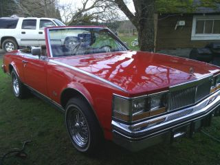 1978 Cadillac Seville Milan Kit Convertible Red photo