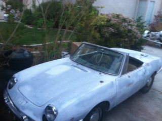 1968 Fiat 850 Spyder - Runs - Needs Tlc - 99% Complete photo