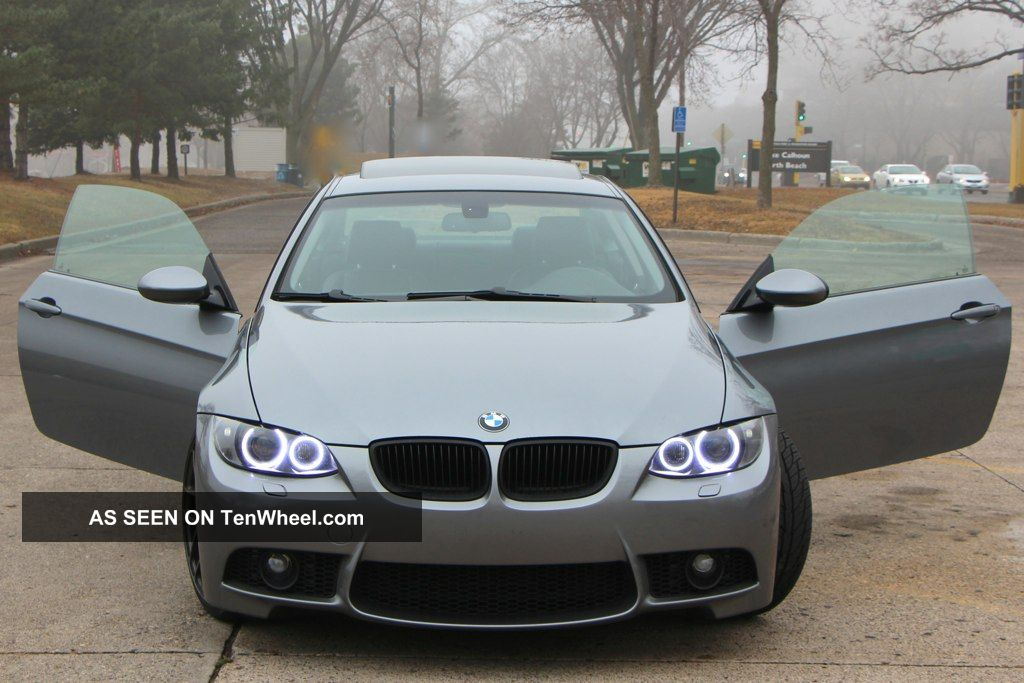 2009 Bmw 3 Series 328i Xdrive Awd Xi Coupe,  M3 Bumper,  Coilovers,  Premium Wheels 3-Series photo
