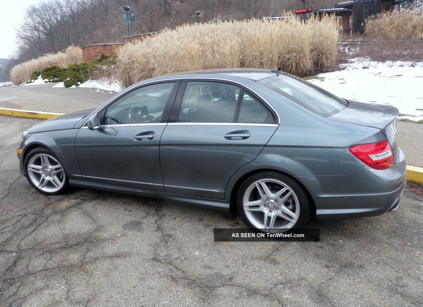 2012 mercedes benz c300 4matic sport sedan 4 door 3 0l