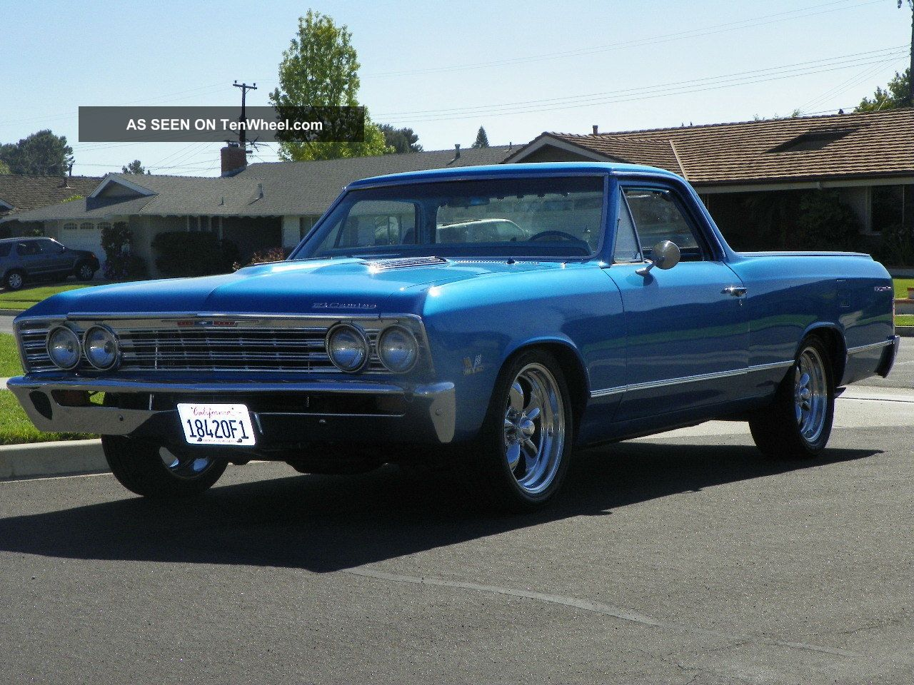 1967 El Camino Fresh Restoration
