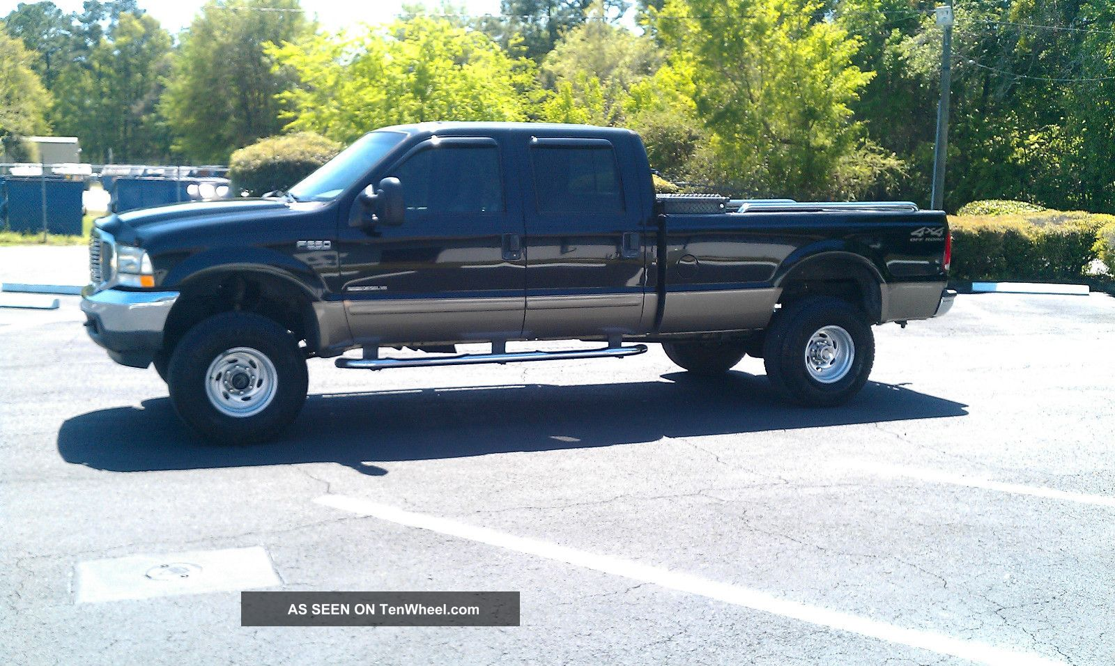 2002 ford f250 7 3 liter diesel 4x4 crew cab really good strong running truck. Black Bedroom Furniture Sets. Home Design Ideas