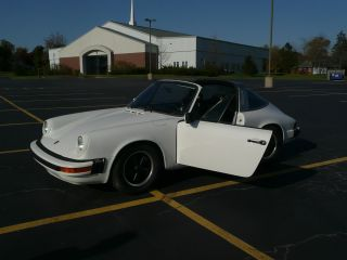 1974 Porsche 911 Targa With 2.  2 Engine And Webers photo