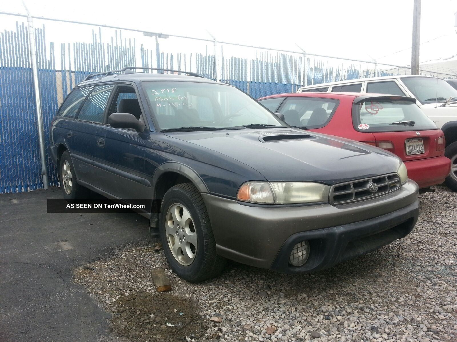 1999 Subaru Legacy Outback Limited Wagon Engine 4 - Door 2.  5l Legacy photo
