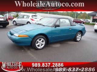 Time Capsule 1993 Mercury Capri Convertable photo