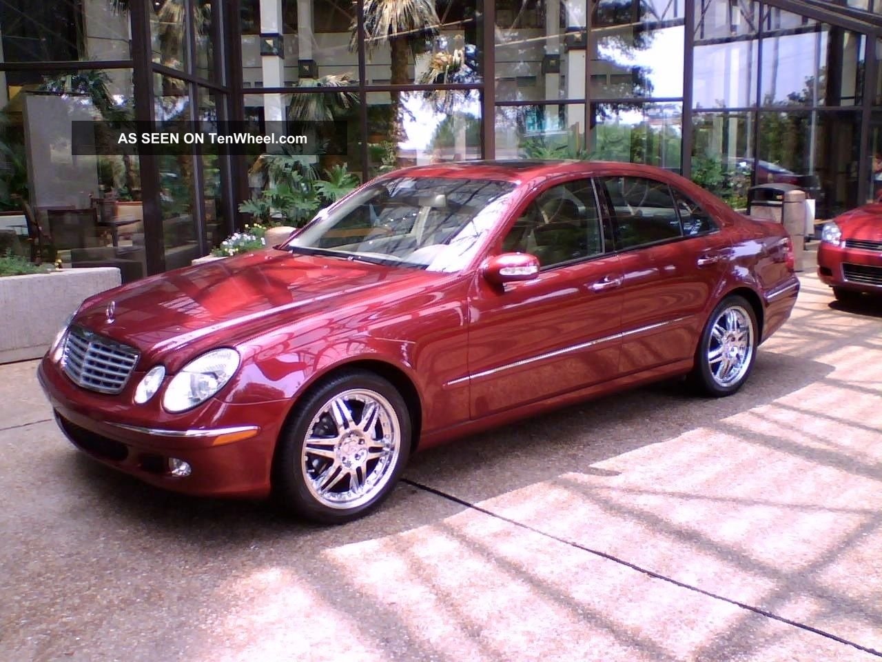 Pristine mercedes benz e320 2004 with for Mercedes benz 2004 e320