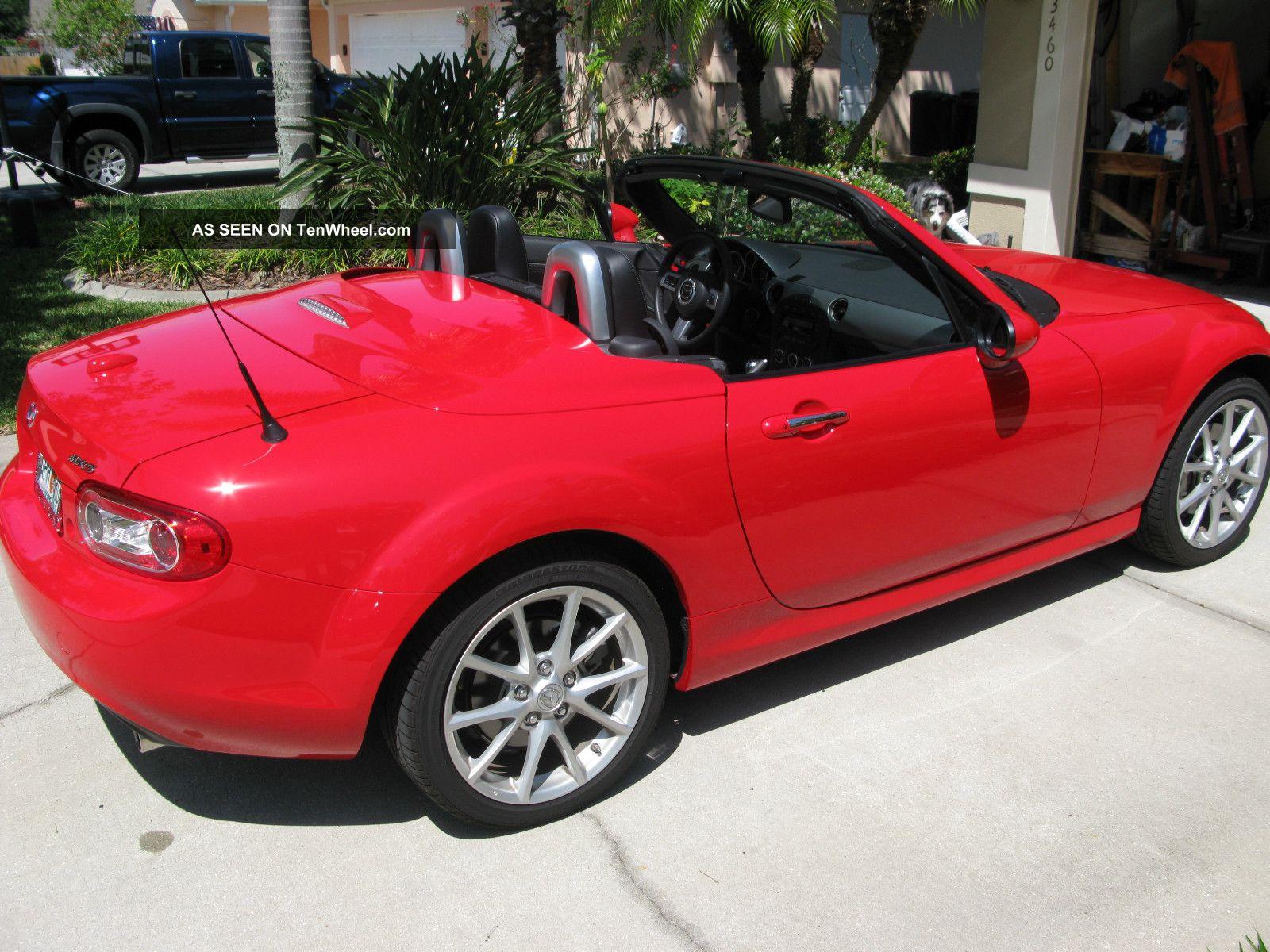 2012 mazda mx 5 miata grand touring prht convertible 2 door 2 0l. Black Bedroom Furniture Sets. Home Design Ideas