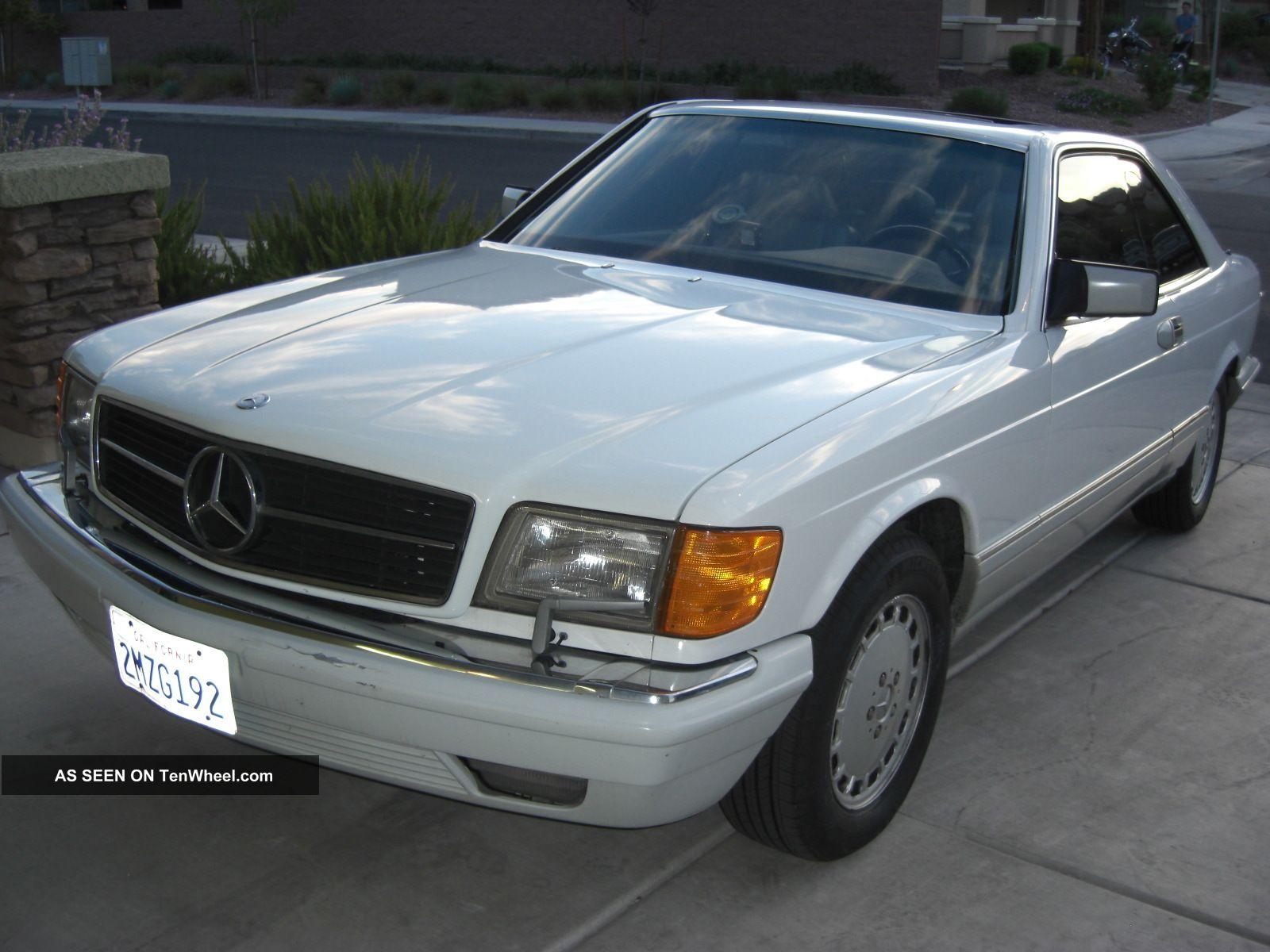 Mercedes benz 560 sec 1989 for Mercedes benz 560 sec