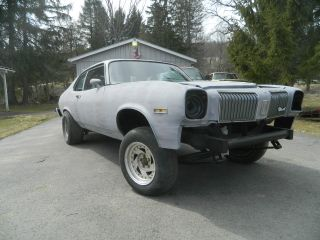 1974 Oldsmobile Omega Gasser With 500 Cadillac Motor Solid Axle Front With Leafs photo