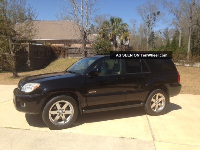 2007 Toyota 4runner Limited Loaded V6 4Runner photo