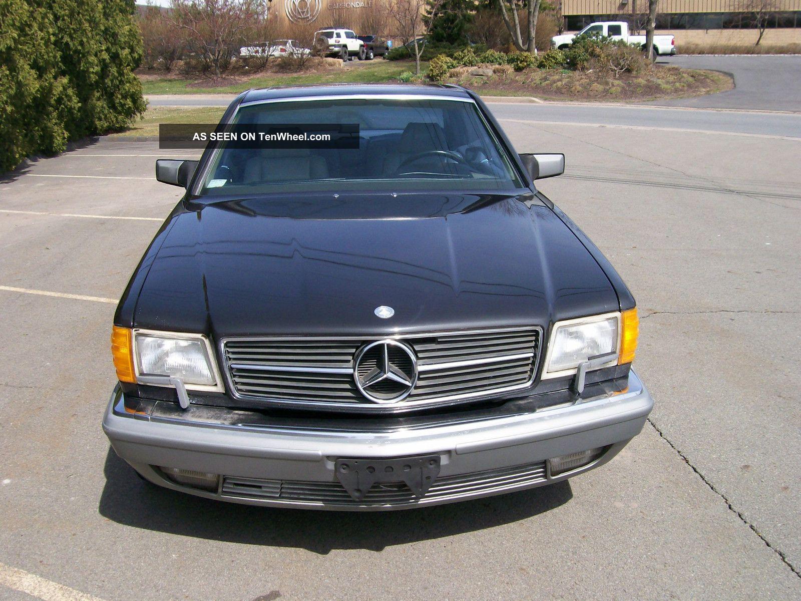 1987 mercedes benz 560 sec for Mercedes benz 560 sec