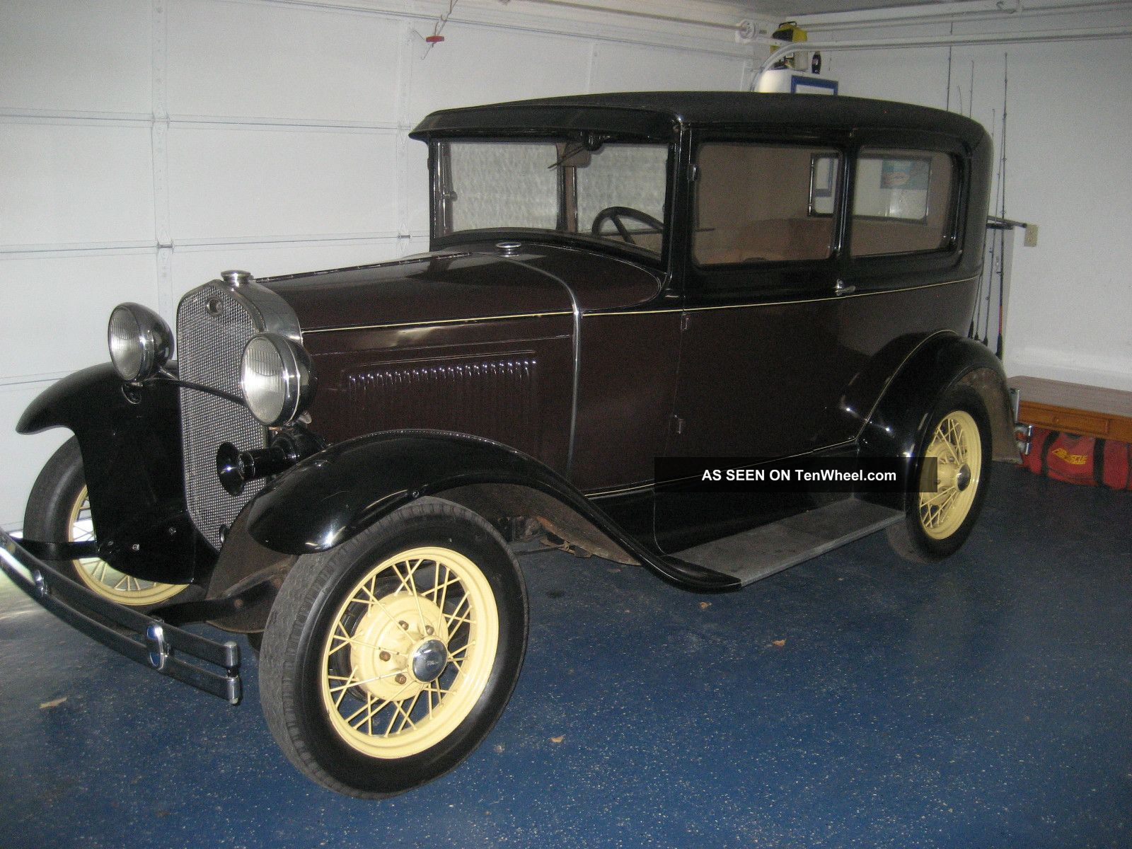 Ford model a sedan 1931 2 door for 1931 ford 2 door sedan