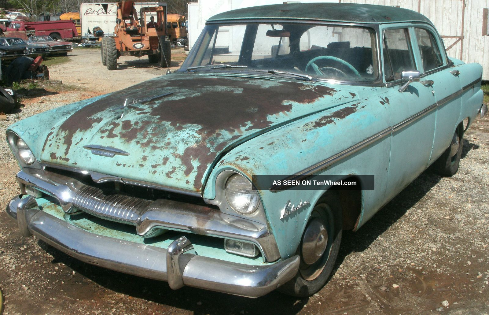 1955 55 Plymouth Belvedere 4 Dr Automatic 340 Runs Complete Project Other photo
