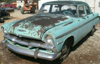 1955 55 Plymouth Belvedere 4 Dr Automatic 340 Runs Complete Project photo