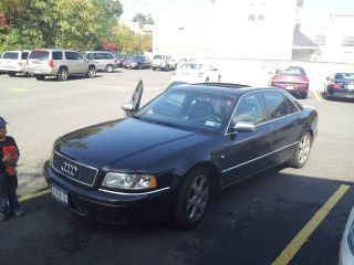 2001 Audi S8 Black Awd photo