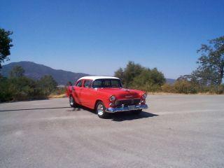1955 2 Door Chevy Classic photo