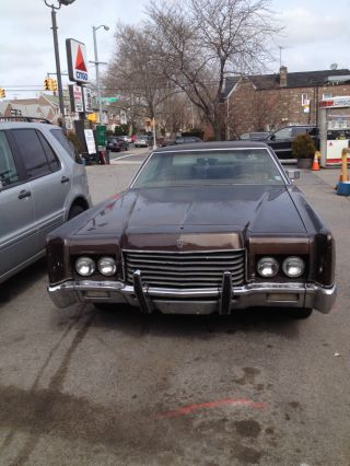 1971 Lincoln Continental Sport - 2 Door Coupe - Excellent Running Condition photo