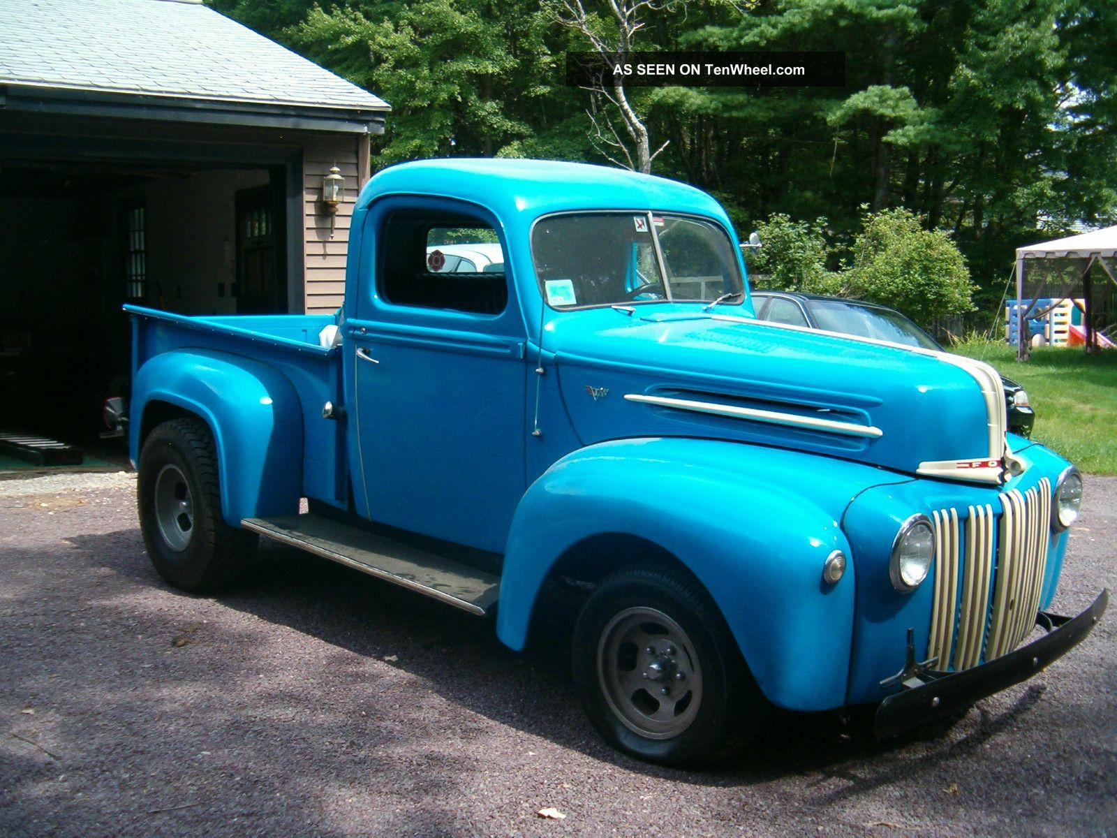 1946 ford stepside pickup vintage hot rod. Black Bedroom Furniture Sets. Home Design Ideas